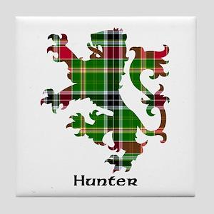 Lion - Hunter Tile Coaster