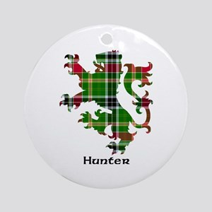 Lion - Hunter Ornament (Round)