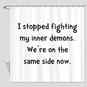 Inner Demons Shower Curtain