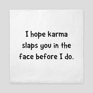 Karma Slap Queen Duvet