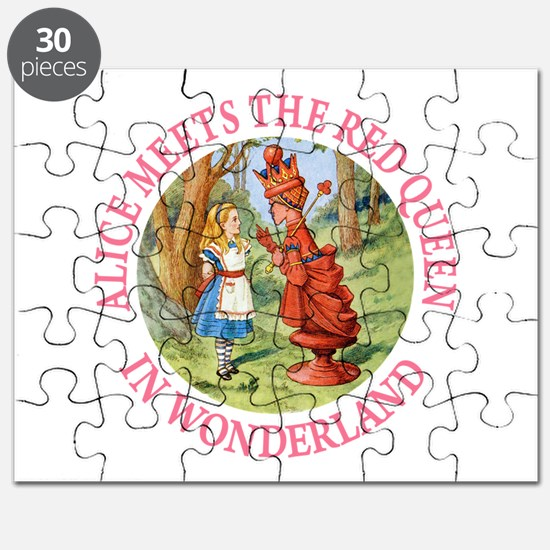 Alice Meets The Red Queen Puzzle