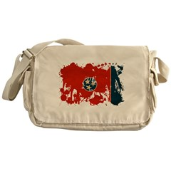 Tennessee Flag Messenger Bag
