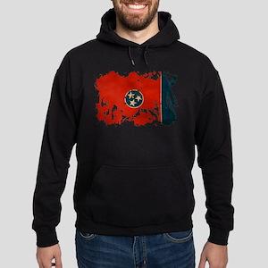 Tennessee Flag Hoodie (dark)