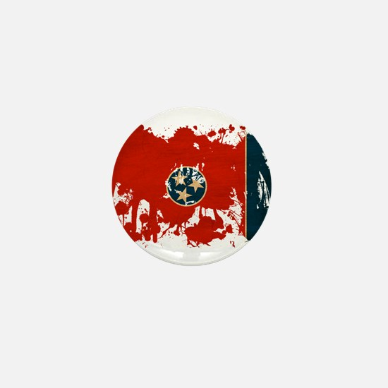 Tennessee Flag Mini Button