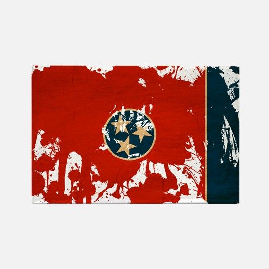 Tennessee Flag Rectangle Magnet