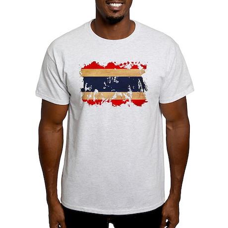 Thailand Flag Light T-Shirt