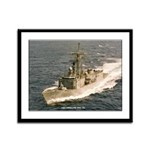 USS COPELAND Framed Panel Print
