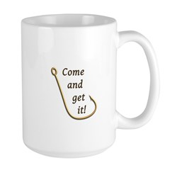 Come and Get It Fish Large Mug