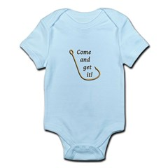 Come and Get It Fish Infant Bodysuit