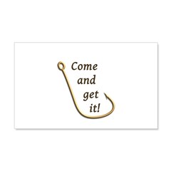 Come and Get It Fish 20x12 Wall Decal