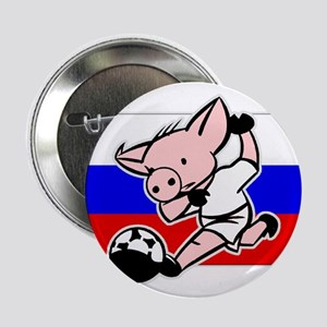 Russia Soccer Pigs Button