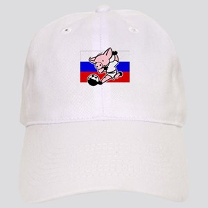 Russia Soccer Pigs Cap