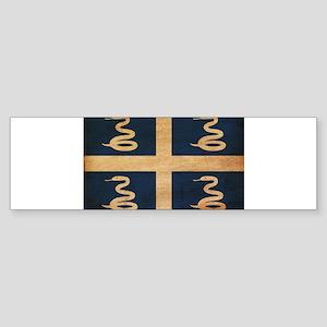 Martinique Flag Sticker (Bumper)