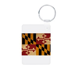Maryland Flag Keychains
