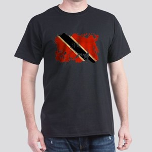 Trinidad and Tobago Flag Dark T-Shirt