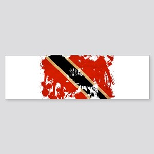 Trinidad and Tobago Flag Sticker (Bumper)