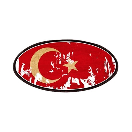 Turkey Flag Patches