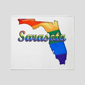 Sarasota, Florida, Gay Pride, Throw Blanket
