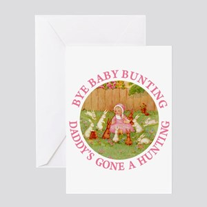 Bye Baby Bunting Greeting Card
