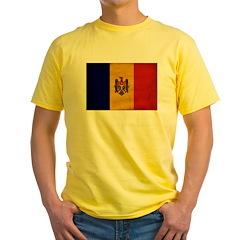 Moldova Flag T