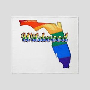 Wildwood, Florida, Gay Pride, Throw Blanket
