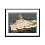 USS CORONADO Framed Panel Print