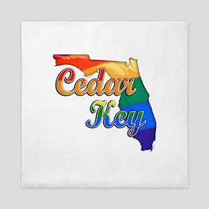 Cedar Key, Florida, Gay Pride, Queen Duvet