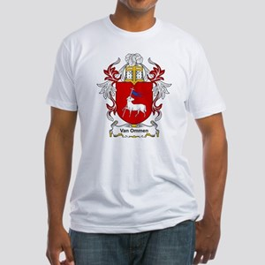 Van Ommen Coat of Arms Fitted T-Shirt