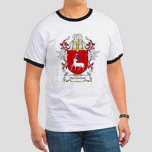 Van Ommen Coat of Arms Ringer T
