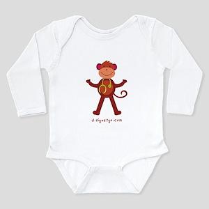 Monkey Medical Professional Long Sleeve Infant Bod