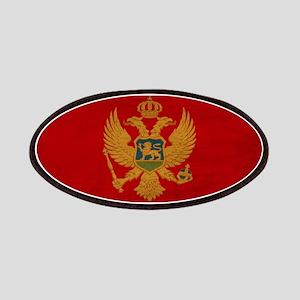 Montenegro Flag Patches
