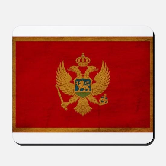 Montenegro Flag Mousepad