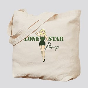 Army Salute Pin-up Tote Bag