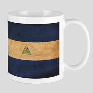Nicaragua Flag Mug