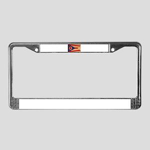 Ohio Flag License Plate Frame