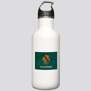 Oklahoma Flag Stainless Water Bottle 1.0L