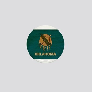 Oklahoma Flag Mini Button