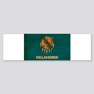 Oklahoma Flag Sticker (Bumper)
