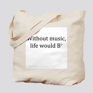 Life Without Music Tote Bag