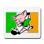 Ireland Soccer Pigs Mousepad