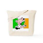 Ireland Soccer Pigs Tote Bag