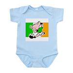 Ireland Soccer Pigs Infant Creeper