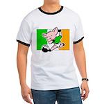 Ireland Soccer Pigs Ringer T