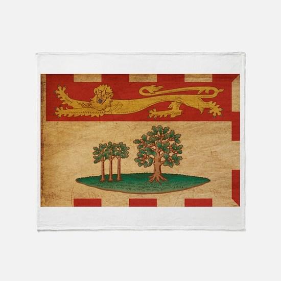 Prince Edward Islands Flag Throw Blanket