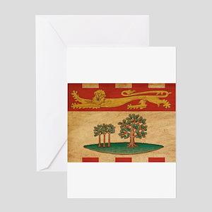 Prince Edward Islands Flag Greeting Card