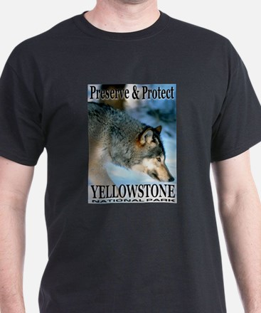 Preserve & Protect YNP Black T-Shirt