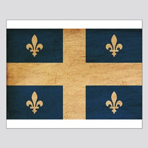Quebec Flag Small Poster