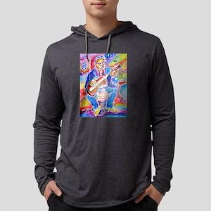 Blues man! Music, art! Mens Hooded Shirt