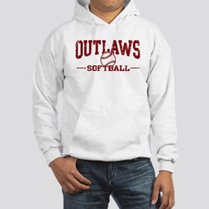 Outlaws Softball Hooded Sweatshirt