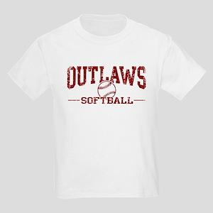 Outlaws Softball Kids Light T-Shirt